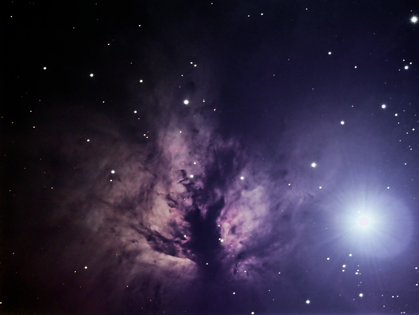 Flame Nebula - Pics about space